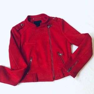 NWT BR Red vibrant Jacket